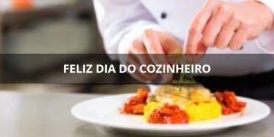 10 de maio é dia do(a) cozinheiro(a), para aqueles que cozinham com amor!