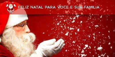 A melhor mensagem de Natal é aquela que sai em silêncio de nossos corações!!!