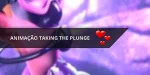 Animação Taking The Plunge, o melhor video de amor de 2015!