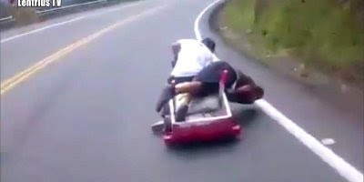 acidentes causados por motoristas imprudentes, e outras coisas mais bizarras!