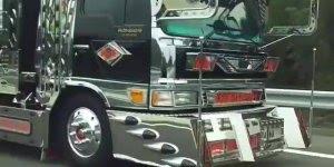 Caminhão invocado.