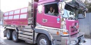 Caminhão no Japão é assim, quanta tecnologia hein, confira!
