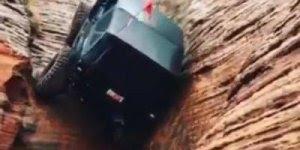 Carro 4x4 subindo um paredão, esse é monstro hein!, confira!