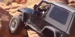 Carro subindo uma pedreira, que coisa incrível, confira!