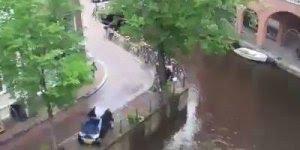 Cuidado com o lugar que vai deixar seu carro estacionado em Amsterdã!