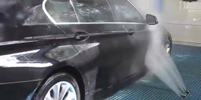 Lavadora de carro automática, os resultados são lindos, confira!