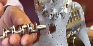 Miniatura de um motor W18, um excelente trabalho, confira!!!