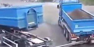 Motorista de caminhão tem que manobrar assim, compartilhe!!!