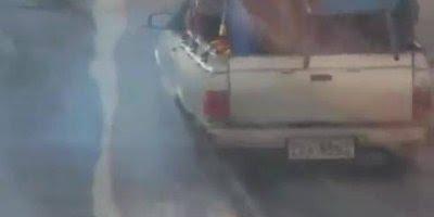 Roda de carro sai e momento é flagrado em video, confira!