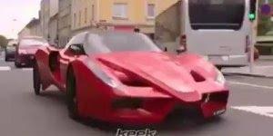 Video com carro esportivo de um jeito que você nunca viu, confira!