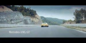 Vídeo com propaganda do carro Mercedez AMG GT, para enlouquecer...