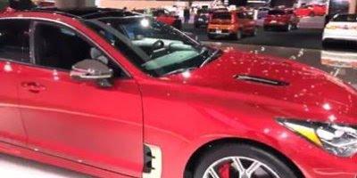 Vídeo mostrando o carro KIA Stinger, você vai se apaixonar por esta maquina!!!