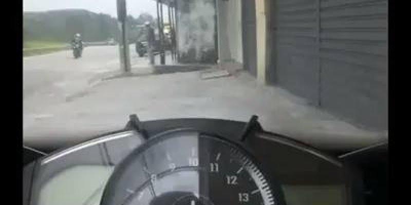 Gente é muita velocidade! Nossa estou impressionada, deve ser adrenalina pura !