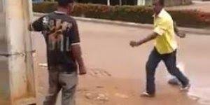 Briga de bêbados, veja quem vai ganhar esse round kkk, confira!