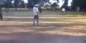 Se beber não jogue bola, veja o video e descubra o motivo kkk!