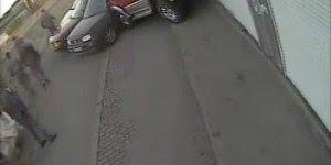 Acidente de carro quase mata um homem, mas a morte estava atrasada!
