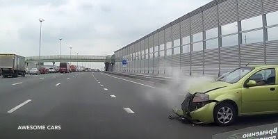 Acidentes registrados por câmeras de bordo em veículos, confira!