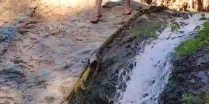 Descendo a cachoeira, mas não pela água, assista e entenda kkk!