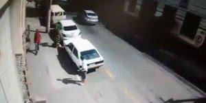 Esse cara foi tentar roubar um carro e se deu muito mal, confira!