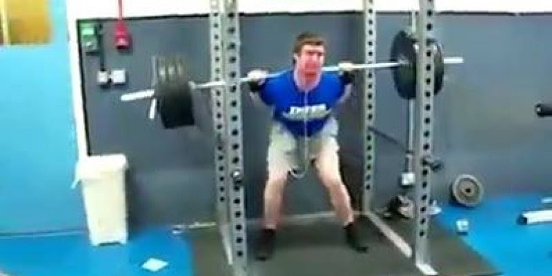 Este vídeo mostra que todos temos limites, até mesmo os atletas!!!