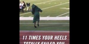 Mulheres e sapato de salto, dez a zero para o saltos altos kkk, confira!
