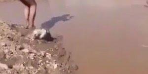 Foi dá uma ponta na lagoa, mas algo deu muito errado kkk, confira!