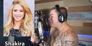 Imitando os cantores internacionais, muito bom, confira!!!
