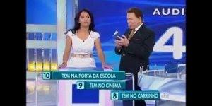 Stefhany Absoluta no programa do Silvio Santos, para dar muitas risadas!