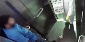Pegadinha da abelha viva no elevador, para rir até chorar hahaha!