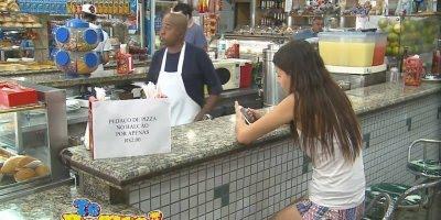 Pegadinha da Pizza no Balcão, para tirar qualquer pessoa do sério hahaha!