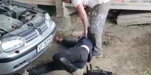Pegadinha da serra elétrica, amigo quase mata o outro hahaha!
