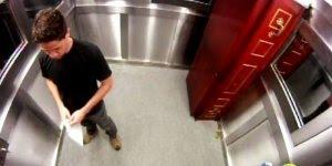 Pegadinha do caixão no elevador, o que você faria no lugar dessas pessoas?