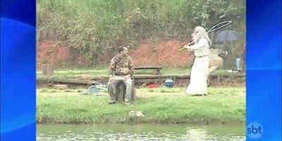 Pegadinha do profeta pedindo peixes para os céus, e você, acreditaria?