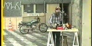 Pegadinha retirando o cachimbo de moto, para rir muito com o Ivo Holanda!