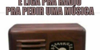 Como pedir uma musica no rádio sem saber falar inglês, muito bom hahaha!