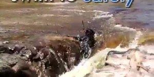 Salvamento sensacional de um cachorro, veja quem o salvou!!!
