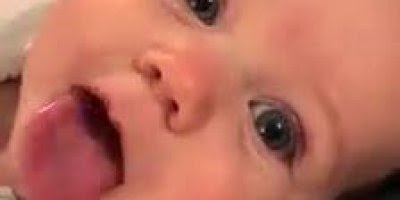 Bebê fofo que viralizou na internet, veja o video e descubra o motivo!
