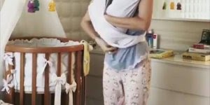 Como amarrar e fazer o seu próprio sling para bebês, dica incrível!