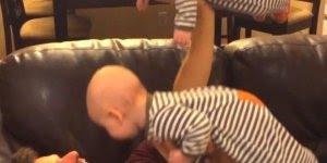 Momentos engraçados com bebês, é uma situação mais fofa que a outra!!!