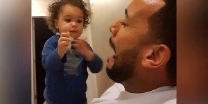 Papais e bebês em momentos fofos e engraçados, para dar muitas risadas!