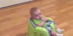Vídeo de como fazer seu bebê ficar quietinho, olha só que ideia!!!
