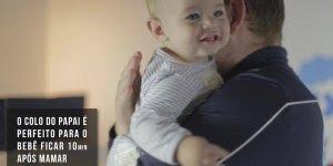 Vídeo muito legal sobre a importância do papai na hora de cuidar do bebê!!!