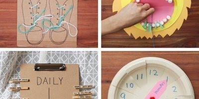 5 Ideias de artesanatos para fazer com crianças - Muito legal!