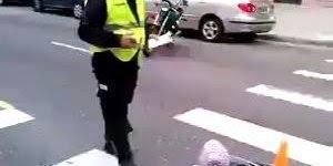 Criança é multada no meio da rua por policial, confira!