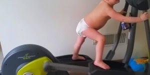 Crianças se assustando com a balança e sendo Fitness, confira!
