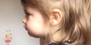 Garotinha linda, a espontaneidade das crianças é algo lindíssimo!!!