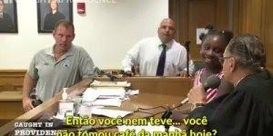 Juiz chama garotinha de seis anos para dar sentença para própria mãe!!!