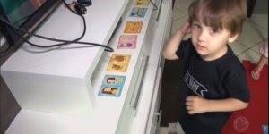 Menino Brasileiro que nasceu com autismo, e só falava em inglês!