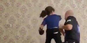Mulher já brava desde pequena, veja essa menina treinando luta!