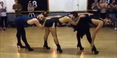 Apresentação de dança com musicas da Beyoncé, vale a pena conferir!!!